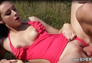 super charming outdoor sex