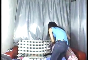 Chinese hot Legal age teenager Dances Nude on webcam at www.watchfreesexcams.com