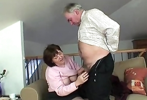 Granny increased by Grandpa roughly action