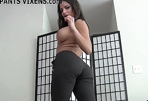I like the similar you stare at my well stocked with yoga pants JOI
