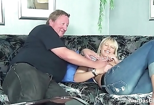 Obese Stepdad Caught His Step Daughter and Fuck Their way Bawdy cleft - to on hotcamgirls24.com