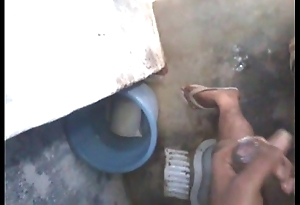 Indian schoolboy masturbation in bathroom