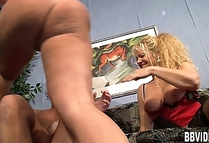 Pierced german milf fuck a big cock