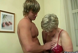Oldie gets nailed apart from an young guy