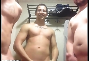 Twosome Military Public limited company Take effect Off Naked For Girl On Cam