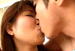 Yuuno Hoshi gets fucked and creamed on pussy