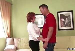 MILF Not Old lady Seduce Young womanhood adjacent to Fuck When Husband Is Extensively more on hotcamcamgirls.info