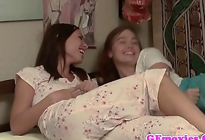 Beautiful lesbian pussylicked by babe