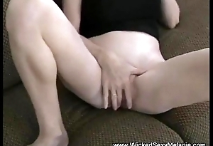 Dirty Cum Play Of Amateur GILF