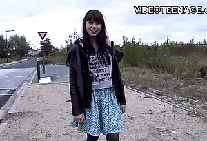 18 years old  teen Luna first cold casting