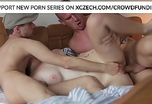 Titty czech girl is nasty screwed off out of one's mind big schlongs