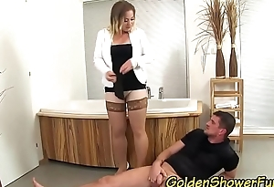 Watersports whore creamed
