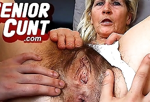 Elderly snatch gaping close-ups pov known with daughter Ivona
