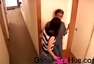 Japanese mom craves sons cock - Keep in view free porn videos on GroupSexHub.com