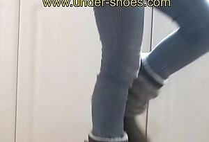 Hammer away extreme Miss Imane boots busting http://clips4sale.com/store/424