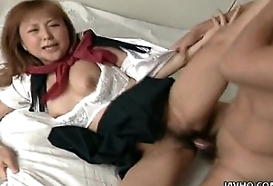 Poisonous school unsubtle getting buss fucked by her lover
